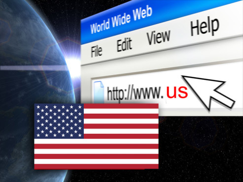 Top-Level-Domain: Vereinigte Staaten von Amerika ©© goce risteski, © MissMedia, © Thorsten - Fotolia.com