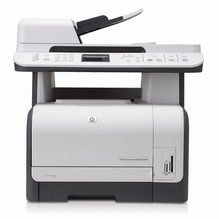 HP Color LaserJet CM1312 Multifunktionsgerät Farblaserdrucker ...