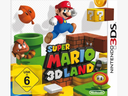 Actionspiel Super Mario 3D Land: Packshot © Nintendo