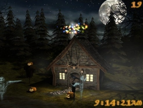 3D Spooky Halloween Screensaver