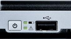 An die USB-Schnittstelle lassen sich Digitalkameras mit PictBridge-Funktion anschließen.