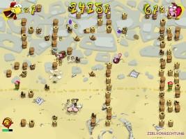 Screenshot 3 - Hühner-Rache Deluxe – Kostenlose Vollversion