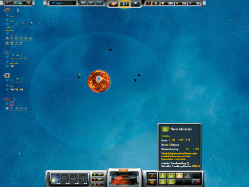 Strategiespiel Sins of a Solar Empire: Vulkanwelt