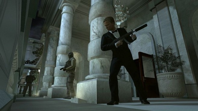 Actionspiel James Bond – Quantum of Solace: Anzug