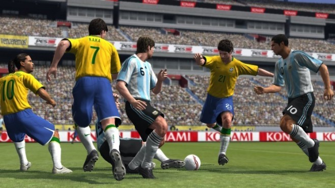 Fußballsimulation Pro Evolution Soccer 2009