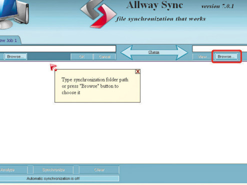 Bildergalerie: Daten mit Allway Sync  überspielen ©COMPUTER BILD