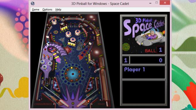 Microsoft 3D Pinball (Unterhaltung) ©COMPUTER BILD