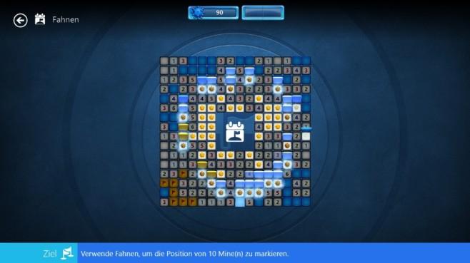 Microsoft Minesweeper (App für Windows 10 & 8, Unterhaltung) ©COMPUTER BILD