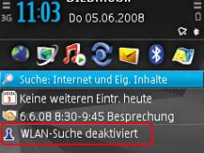 WLAN per Nokia-Handy Bevor Sie das WLAN nutzen können, muss es erst einmal aktiviert werden.