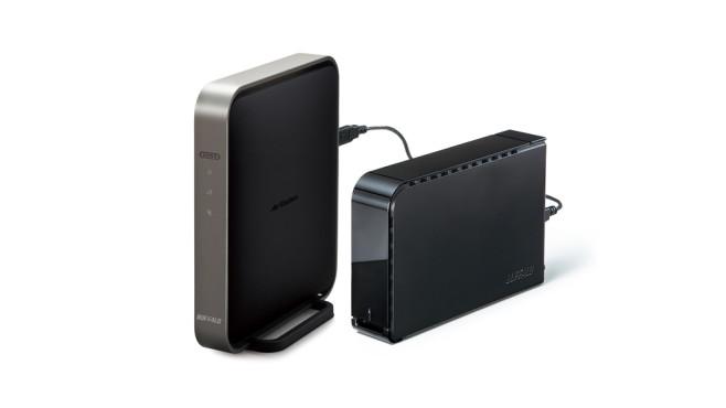 festplatten fernzugriff per wlan router computer bild. Black Bedroom Furniture Sets. Home Design Ideas