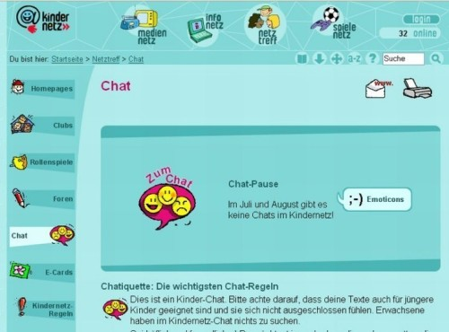 Chat SWR Kindernetz
