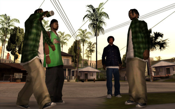 Actionspiel Grand Theft Auto – San Andreas: CJ