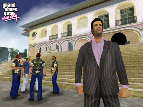 Actionspiel Grand Theft Auto– Vice City: Tommy Vercetti