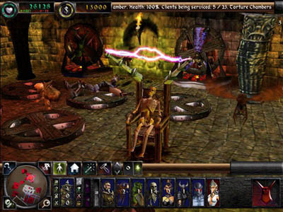 Strategiespiel Dungeon Keeper 2: Folter