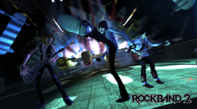 Rock Band 2: Bühnenshow © Harmonix Music Systems