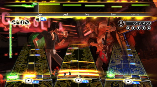 Rock Band 2: Duett © Harmonix Music Systems