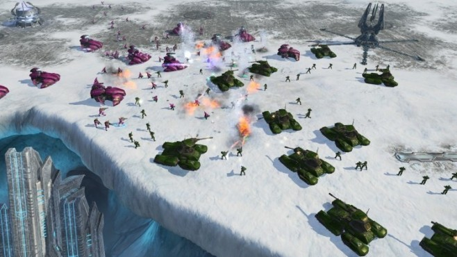 Strategiespiel Halo Wars: Abgrund © Microsoft