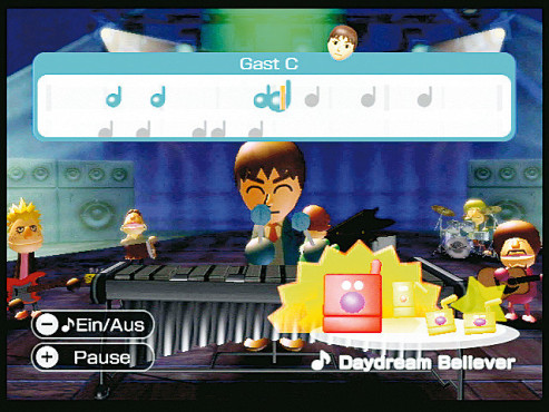 Musikspiel Wii Music: Song