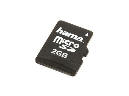 Hama microSD 2GB: Speicherkarte ©Hama