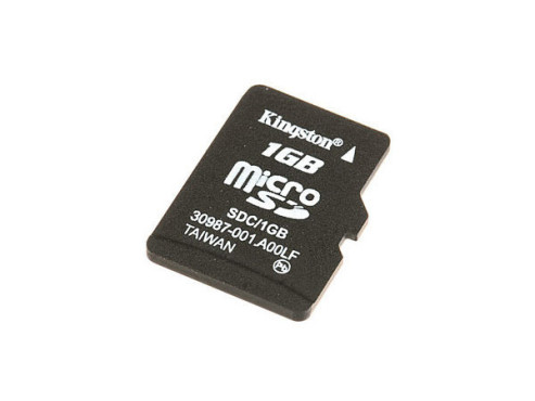 Kingston microSD 1GB: Speicherkarte © Kingston