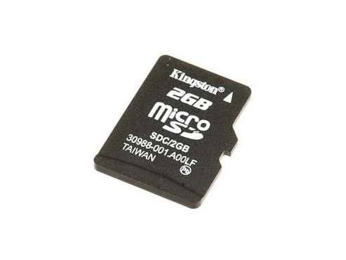 Kingston microSD 2GB: Speicherkarte © Kingston