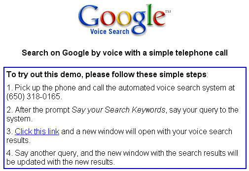 Google Flop: Voice Search