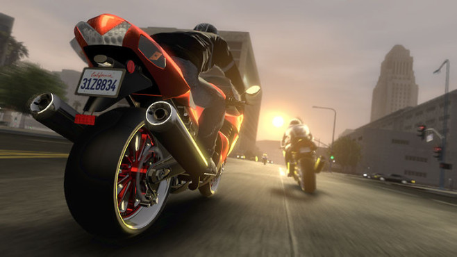 Rennspiel Midnight Club – Los Angeles: Motorradrennen © Rockstar
