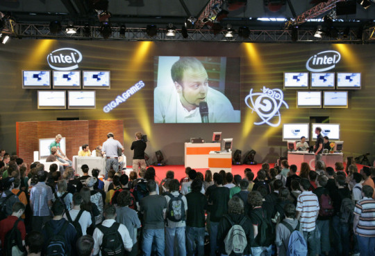 Messe Games Convention: Fernsehshow