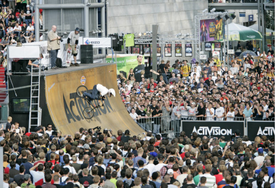 Messe Games Convention: Halfpipe