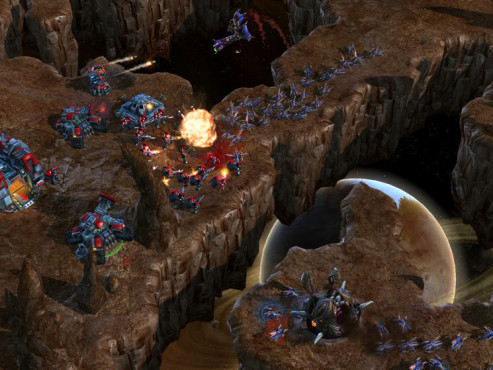 Strategiespiel Starcraft 2