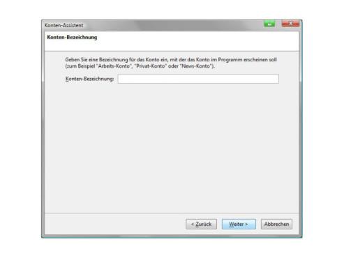 Mozilla Thunderbird: E-Mail-Konto einrichten
