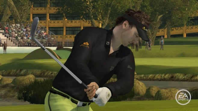 Sportspiel Tiger Woods PGA Tour 09: Ausholen © EA