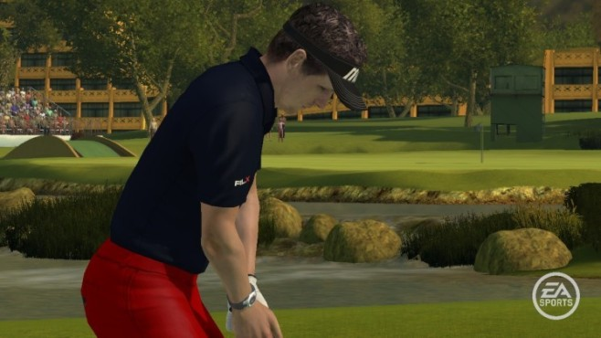 Sportspiel Tiger Woods PGA Tour 09: Konzentration © EA