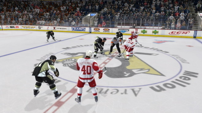 Sportspiel NHL 09: Bully © EA