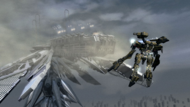 Actionspiel Armored Core for Answers: Roboter