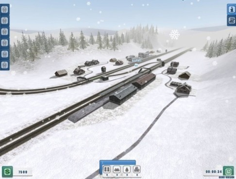 Simulation Eisenbahn 1.0: Winter © Astragon
