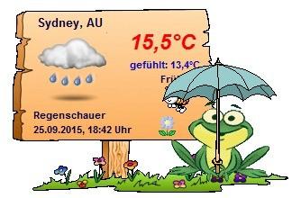 Screenshot 3 - Wetterfroschi