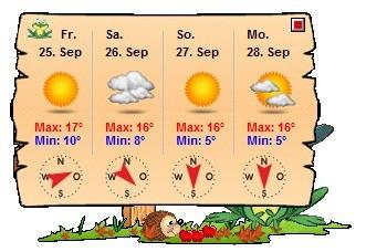 Screenshot 5 - Wetterfroschi