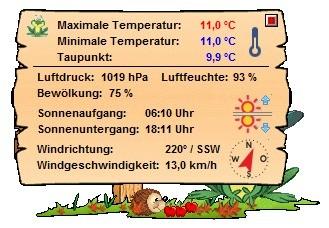 Screenshot 6 - Wetterfroschi