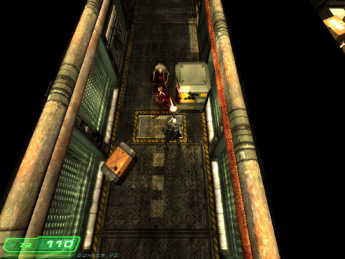 Doom-3-Mod Z-Hunter: Gang © id Software