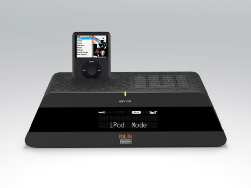 iBLIK Radio mit iPod-Dock