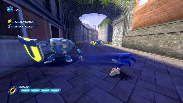 Actionspiel Sonic Unleashed: Ausweichmanöver