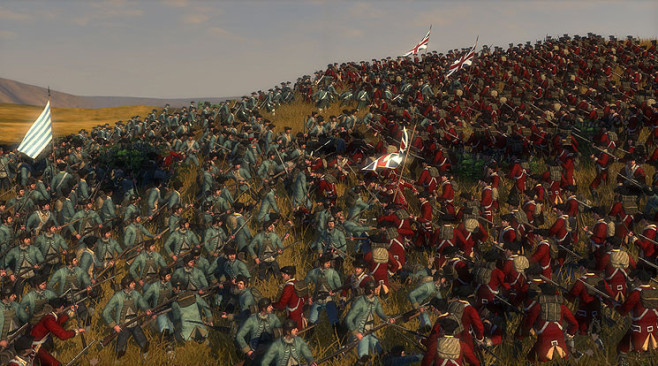Strategiespiel Empire – Total War: Landschlacht