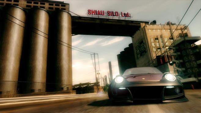 Rennspiel Need for Speed – Undercover: Industriegebiet