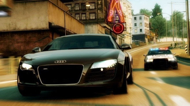 Rennspiel Need for Speed – Undercover: Mittelstreifen