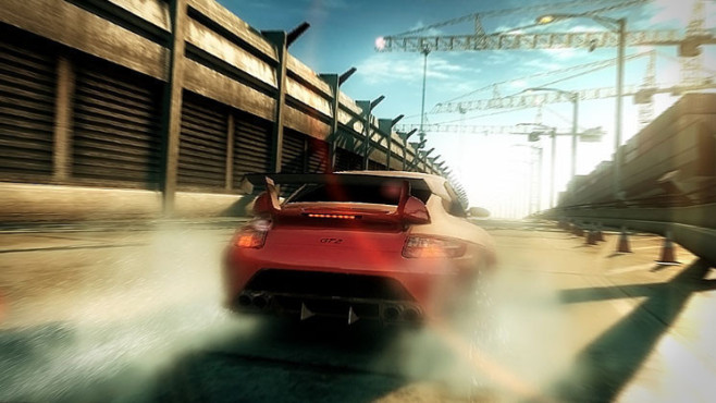 Rennspiel Need for Speed – Undercover: Rauch