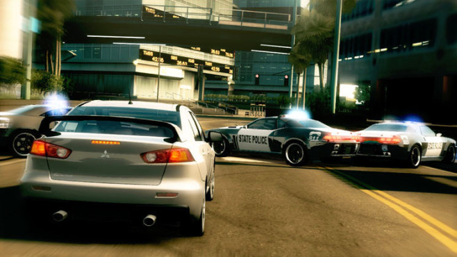 Rennspiel Need for Speed – Undercover: Straßensperre