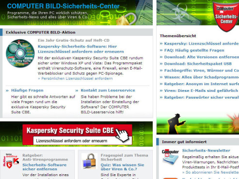 20 n�tzliche Kaspersky-Tipps Kaspersky Scurity Suite CBE � Lizenzverl�ngerung