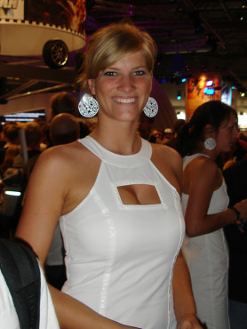 Games Convention 2008: Messe-Babe