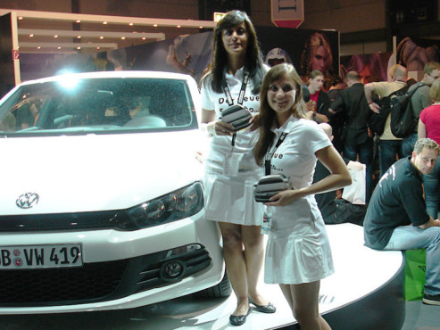 Games Convention 2008: VW-Scirocco
